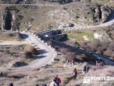 Puentes del Río Manzanares;sierradegredos;castillo de la adrada